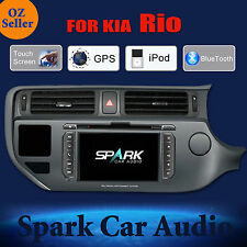 SP-AFTERMARKET GPS DVD SAT NAV IPOD BLUETOOTH USB NAVIGATION FOR KIA RIO 2014+