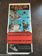 THE ADVENTURES OF SKIPPY aka THE INTRUDERS ORIGINAL DAYBILL CINEMA POSTER 1969
