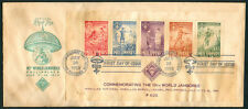 1959 Philippines Commemorating 10th World Jamboree First Day Cover C