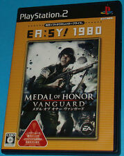 Medal of Honor Vanguard - Sony Playstation 2 PS2 Japan - JAP
