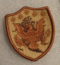 ARMY PATCH  U.S. NORTHERN COMMAND, 3 COLOR VARIATION, DESERT