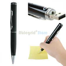 8GB USB Spy Pen Video Recorder Hidden Camera Camcorder DVR 1280*960 Black-Silver