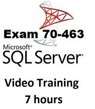 Microsoft SQL Server 2012 Certification - Exam 70-463 Video Training - 7 hours