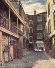 A4 Photo Norman Philip 1842 1931 London Vanished & Vanishing 1905 Old Bell Inn H
