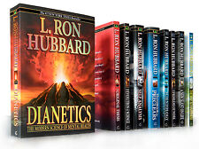 Dianetics & Scientology Beginning Books Package by L.Ron Hubbard 10 PB Books