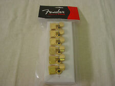 FENDER AMERICAN STANDARD GOLD TONE MACHINE HEAD STRAT/TELE TUNING KEY TELECASTER