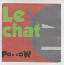 """POW WOW Disque 45 tours 7"""" SP LE CHAT - RUN ON - REMARK 865434 Frais Reduit"""