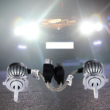 2x H4 LED Light Headlight Vehicle Car Hi/Lo Beam Bulb Kit 6000k 60W 6000LM White