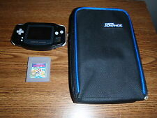 Black NINTENDO GAMEBOY ADVANCE Console System AGB-001 w/Super Mario Land