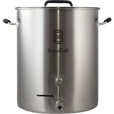 31 Gallon BrewBuilt ™  Kettle - Professional 304 Stainless Pot ~ Free Shipping!