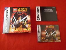 Lego Star Wars Game Boy Advance Empty Box & Manual ONLY (no game)