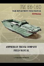 AMPHIBIAN TRUCK COMPANY WWII Field Manual DUKW