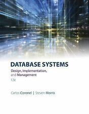 Database Systems : Design, Implementation, and Management (US HARDCOVER 12/E)