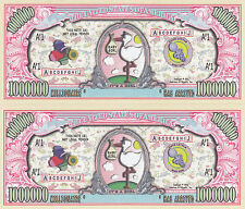 Two It's a Girl! Birth Announcement Keepsake Bills #158