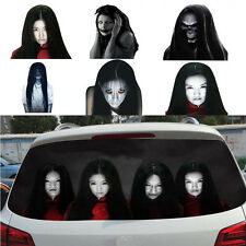1pcs Horror Rear Window Decal Sticker to Discourage High-beam Users