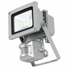 PIR SMD LED 10w Outdoor Security Garden Motion Detecter Floodlight Light 100w