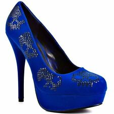 IRON FIST SUGAR HICCUP COBALT LADIES PLATFORM  SIZES 5