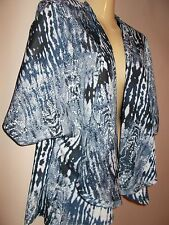 Romeo & Juliet Couture Womens Size M Open Blouse Shrug 100% polyester