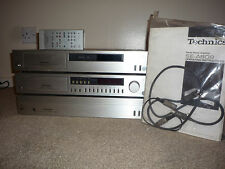 TECHNICS se-a808 st-k808 Power Amp, pre-amp,