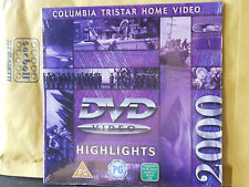 COLUMBIA TRISTAR HOME VIDEO - DVD VIDEO - HIGHLIGHTS - 2000 catalogo PROMO DEMO