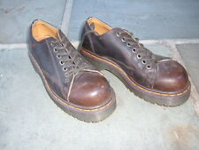 Dr. Martens Men Cushion Sole Tana #8019/34 size 5 Made in England --EUC--