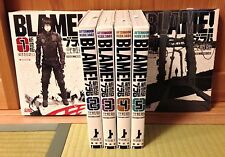 BLAME! Renewal Edition 1- 6 Manga Completed Set Tsutomu Nihei Japanese Comic