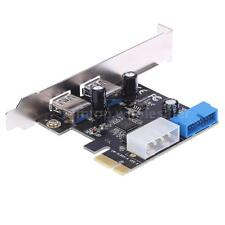 19-pin Internal 5Gbps SuperSpeed USB3.0 Port PCI Express W/ 4-pin IDE Connector