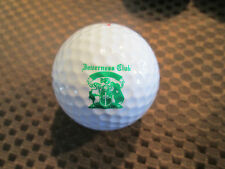LOGO GOLF BALL-INVERNESS GOLF CLUB....ILLINOIS.....GREEN TEXT...OLDER LOGO