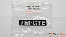 Toyota Supra Turbo 1987-1992 7M-GTE Engine Decal Genuine OEM 11291-42020
