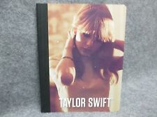 """Taylor Swift Official Composition Book Intimate Portrait 7.5"""" x 9.75"""" 2012 NEW"""