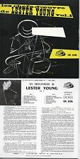 CD Lester Young Les Chefs-d'œuvre de Lester Young Vol. 1 / Vol. 2 - MINI LP REPL