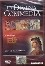 LA DIVINA COMMEDIA. INFERNO. CANTO XXII - XXIII - XXIV - DVD DE AGOSTINI