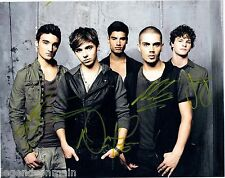 """The Wanted"" Max George-Jay McGuiness-Tom Parker-Nathan Sykes 8x10 with COA"