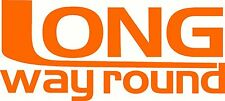 Long Way Round Decal Sticker Keyline 290 x 130mm