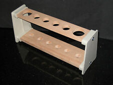 Wooden Test Tube, Boiling Tube Rack / Stand, Test Tube Holder Brand New