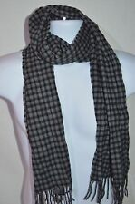 JOHN VARVATOS Star USA Man's Cashmere/Wool Scarf  NEW   Size 10in x 65 in