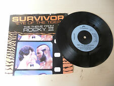"SURVIVOR"" EYE OF THE TIGER-disco 45 giri SCOTTI UK 1981"" PERFETTO- OST"