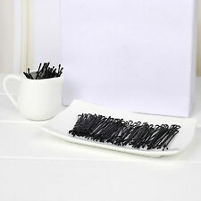 56X Invisible Haarspangen Flat Top Bobby Pins Grip Salon Haarspange Haarnadel