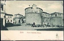 1900 - Riolo - Piazza Caterina Sforza