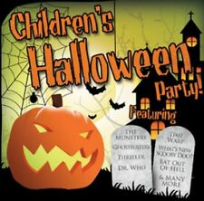 Children's Halloween Party GHOSTBUSTERS - MONSTER MASH & SCARY SOUND EFFECTS cd