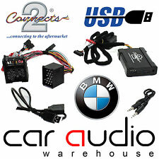 Connects2 BMW 3 Series E46 1996-02 Round Pin USB SD AUX In Car Interface Adaptor