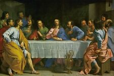 "Oil painting ON CANVAS 36"" Large BEST ART  The Last Supper ART Classic"