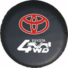 """Toyota 4WD SUVs Spare Wheel Tire Tyre Cover Case Pouch Bag Protector 32""""33"""" XL"""