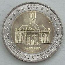 2 Euro Deutschland 2009 J Saarland unz