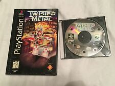Twisted Metal Long Box (Sony PlayStation 1/ PS1) CIB, Tested & Works, Free Ship!