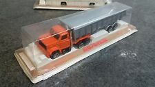 RARE 1980s Boxed 1:100 Majorette Articulated Semi Tipper Dump Truck Lorry Boxed