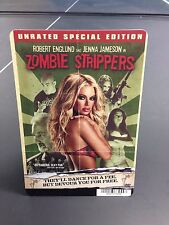 """Movie Backer Card """"Zombie Strippers"""" (Not the Movie) *Mini Poster*"""