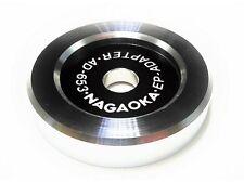 """Nagaoka AD 6532 Single Puck Single Adapter Japan for 7"""" EP"""