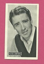 Peter Lawford Vintage Kwatta Movie Star Card B