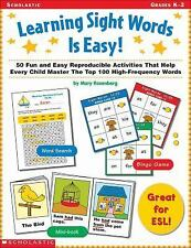 Learning Sight Words is Easy! (Grades K-2)-ExLibrary